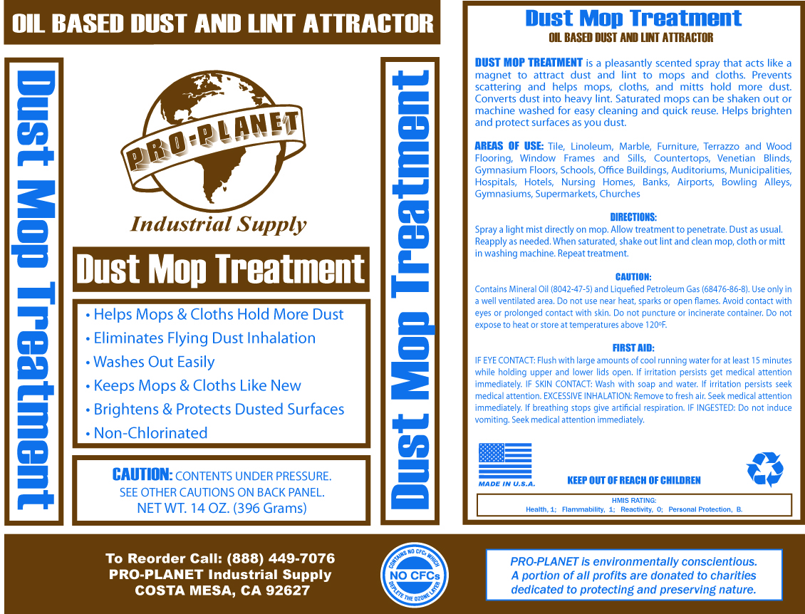 Dust Mop Treatment - Pro Planet Industrial Supply